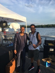 UHA Co-Founder William Bailey w/ saxophone legend Kenny Garrett @ DC Jazz Festival, Washington, DC 6/17/17