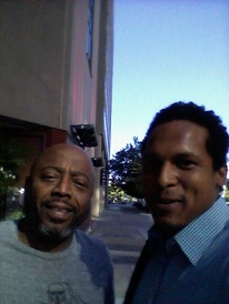 William Bailey w/ comedian Donnell Rawlings in DC 2017