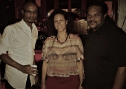 Eric and Jamaal Bailey w/ Cissa Paz (Brazilian vocalist) @ Bossa Bistro & Lounge, Washington, DC 8/31/17