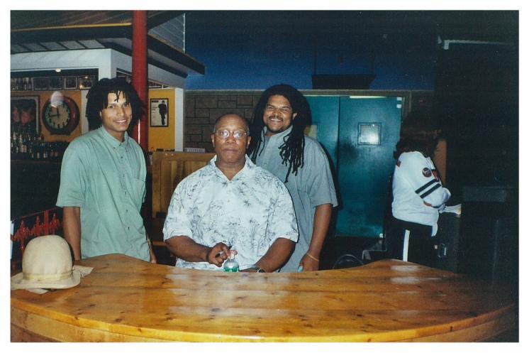 William and Jamaal Bailey w/ legendary jazz drummer Billy Cobham at The Birchmere, Alexandria, VA