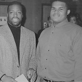 Jamaal Bailey w/ NFL Hall of Famer Darryl Green, Howard University, Washington, DC 2/3/94