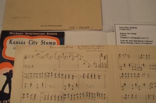 "Original Arrangement Composition of Jelly Roll Morton's ""Kansas City Stomp"""