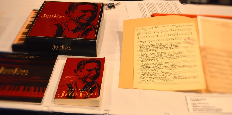 """Original Boxed Set of """"Jelly Roll Morton: The Complete Library of Congress Recordings"""""""