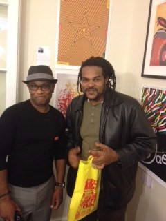 Jamaal Bailey w/ the late Michael Thompson (Founder of the IRPC) @ Jamaican Embassy, Washington, DC 11/14/13