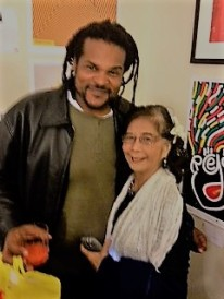Jamaal Bailey w/ Patricia Chin (Founder of VP Records) @ Jamaican Embassy, Washington, DC 11/14/13