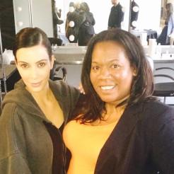w/ Kim Kardashian