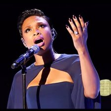 Jennifer Hudson - Nails by Bernadette Thompson