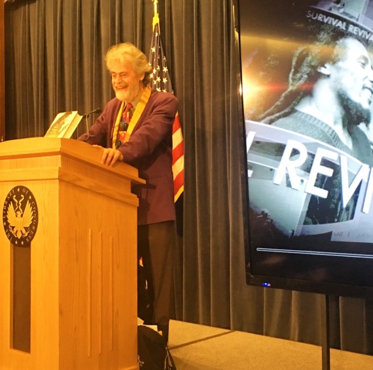 Roger Steffens speaking @ Library of Congress