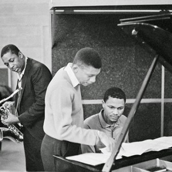 John Coltrane, MCoy Tyner and Johnny Hartman