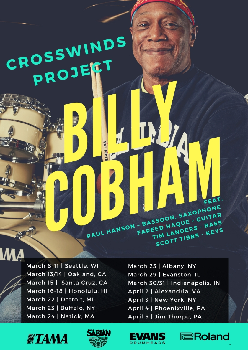 Billy Cobham 2018 Tour FINAL