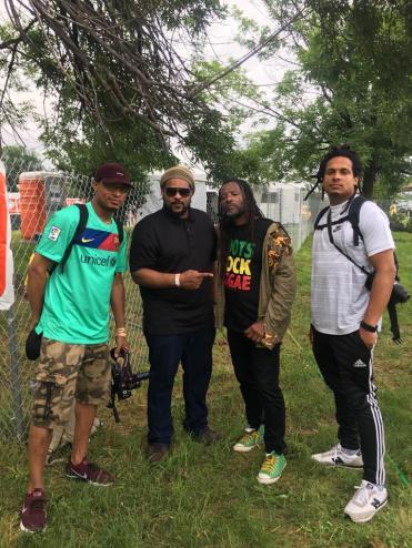 "Urban Heat Advisory w/ Third World drummer Tony ""Ruption"" Williams @ Grace Jamaican Jerk Festival (June 2018)"