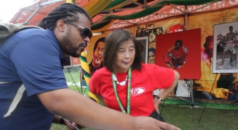 w/ Patricia Chin (VP Records)